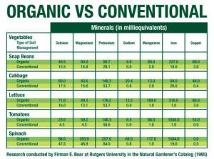 Organic vs. Conventional
