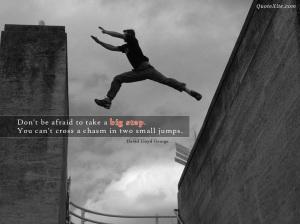 Train For That Big Jump