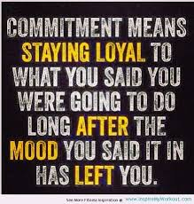 Stay Committed!