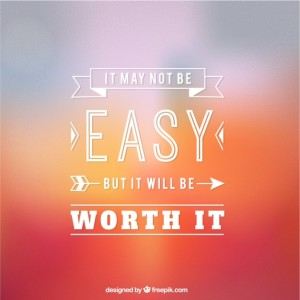 It will be worth it!!